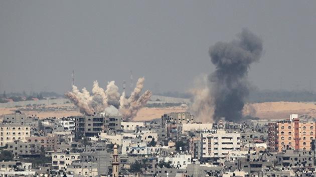 Aviones israelíes destruyen otro edificio residencial en Gaza