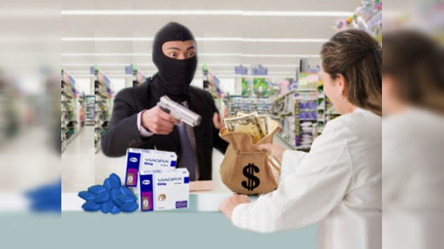 Español atracó 10 farmacias exigiendo Viagra