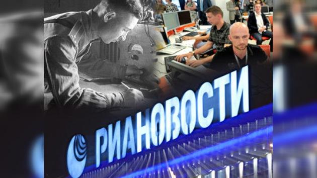 RIA Novosti, una de las principales agencias de información de Rusia, cumple 70 años