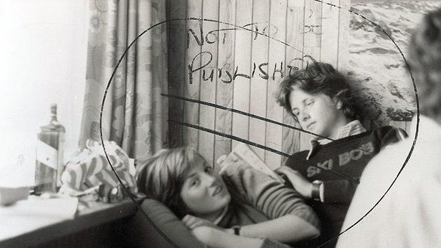 La foto más comprometedora de la joven Lady Di será subastada en EE.UU.