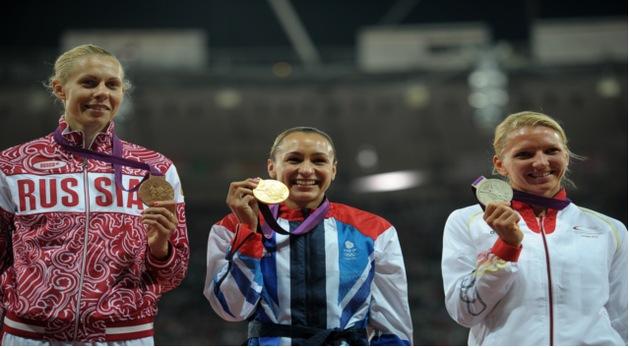 FOTOS: La rusa Tatiana Chernova quedó relegada al bronce olímpico en heptatlón