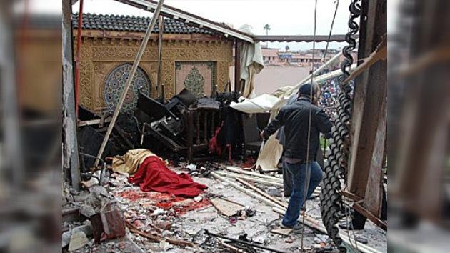 Un acto terrorista en la ciudad marroquí de Marrakech deja decenas de muertos