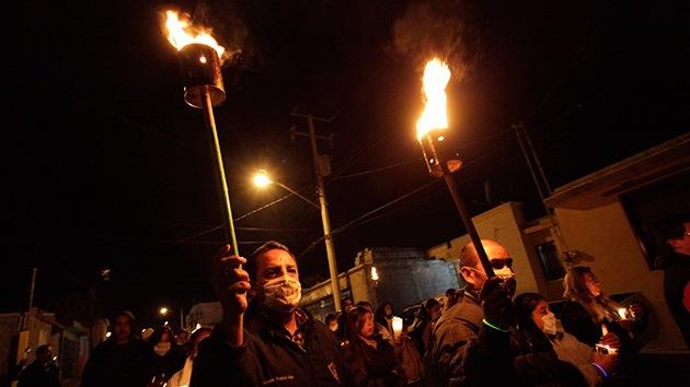 México: Manifestantes bloquean el aeropuerto internacional de Oaxaca