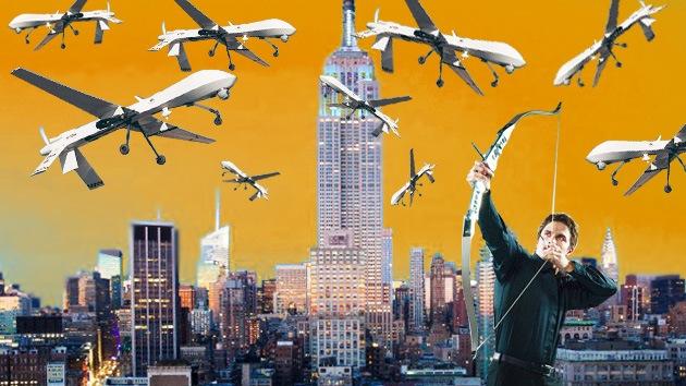 ´Derribe un drone-espía y conviértase en héroe en EE. UU.´