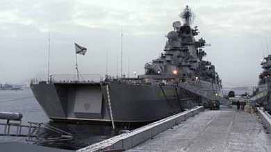 La Armada rusa moderniza sus buques más potentes como el Admiral Najímov