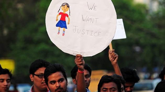 La India: 22 sospechosos detenidos por la salvaje violación de una niña de 6 años