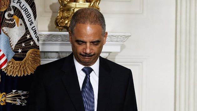 Los 'crímenes' del recién dimitido fiscal general de EE.UU., Eric Holder