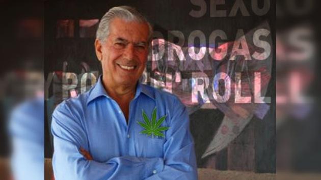 Vargas Llosa propone legalizar las drogas