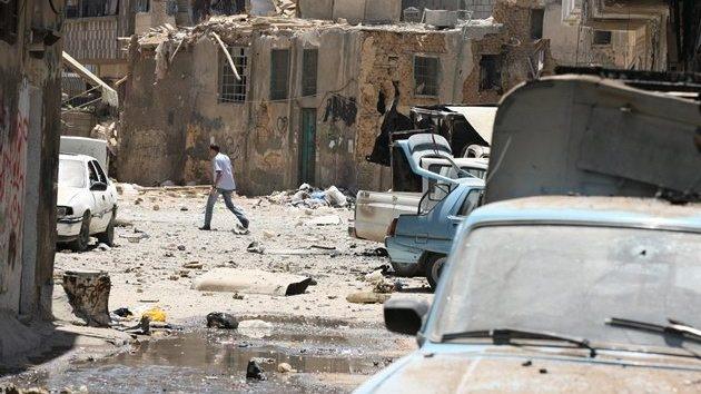 Un coche bomba destruye una gasolinera en Damasco