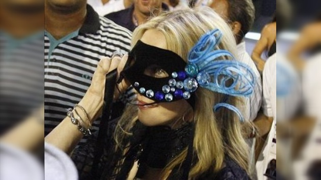 Madonna estuvo en el sambódromo brasileño