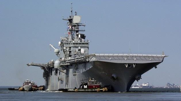 Buque de desembarco de EE.UU. se dirige al Mediterráneo debido a la situación en Libia
