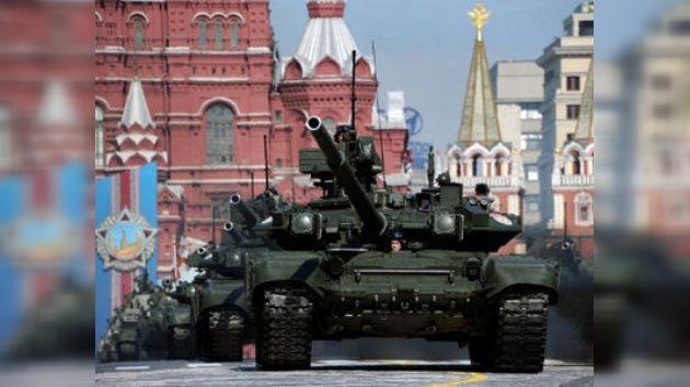 FOTOS: Último ensayo del mayor desfile del año en Moscú