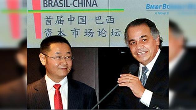 Las bolsas de Brasil y China acuerdan profundizar en su cooperación