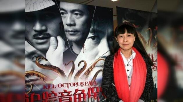 Una cineasta china estrena una película sobre el pulpo Paul