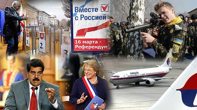 Balance semanal: El futuro de Crimea, la crisis en Venezuela y el avión desvanecido