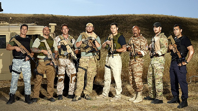 Ciudadanos estadounidenses protestan contra el 'reality' militar de la NBC