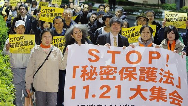 Fotos: Protestas en Japón contra el nuevo proyecto de ley sobre secretos de Estado