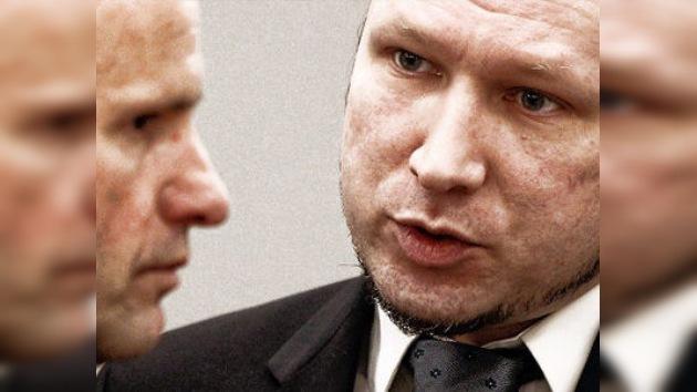 """El asesino de Oslo quería evitar una """"barbarie mayor"""""""
