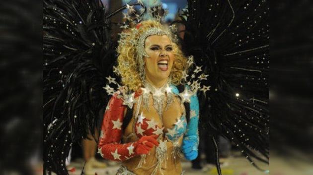 El cuarto día del carnaval de Río de Janeiro