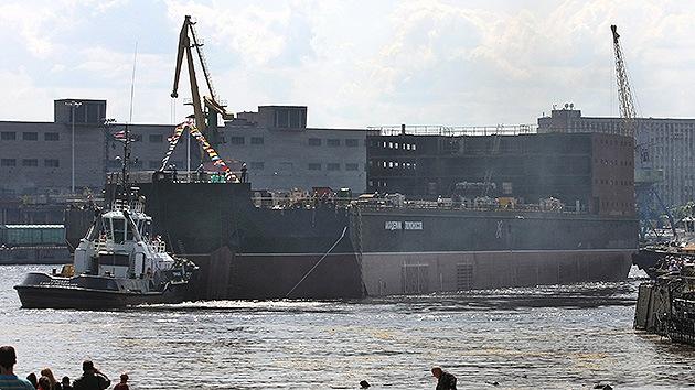 China cooperará con Rusia en la creación de centrales nucleares flotantes