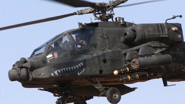 China pudo haber 'clonado' el helicóptero Apache estadounidense