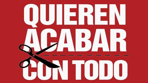 Sindicatos españoles convocan protestas contra los nuevos recortes