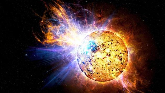 Hallan una estrella que aumenta su brillo en 15 veces en menos de tres minutos