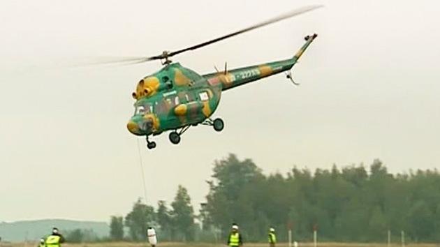 Pilotos rusos ganan el campeonato mundial de manejo de helicópteros
