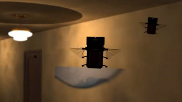 Video: Microdrones mortíferos a semejanza de insectos, proyecto en desarrollo en EE.UU.