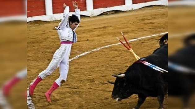 Se estrena como matador en España un torero de 16 años