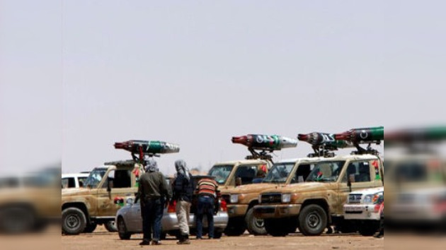 Gaddafi podría usar armas químicas contra los rebeldes