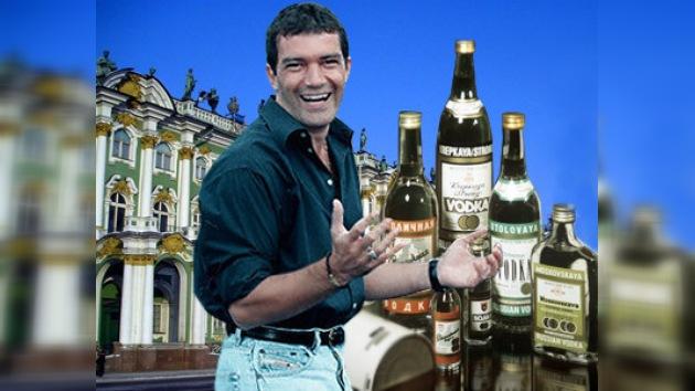 Antonio Banderas en Rusia: el Hermitage y el Museo del Vodka
