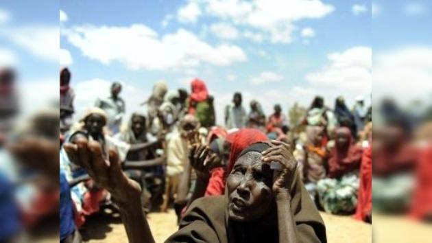 750.000 somalíes se enfrentan a una muerte inminente por la hambruna