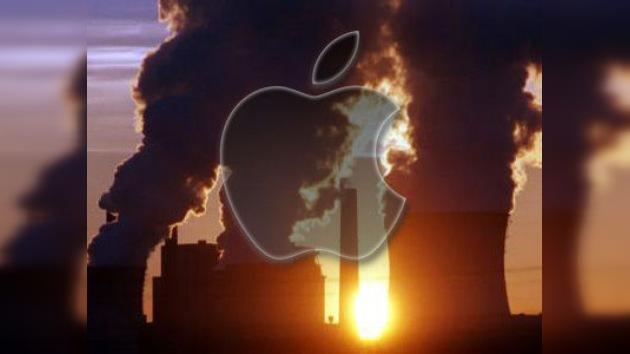 Apple y Amazon, suspendidas en energías 'limpias'