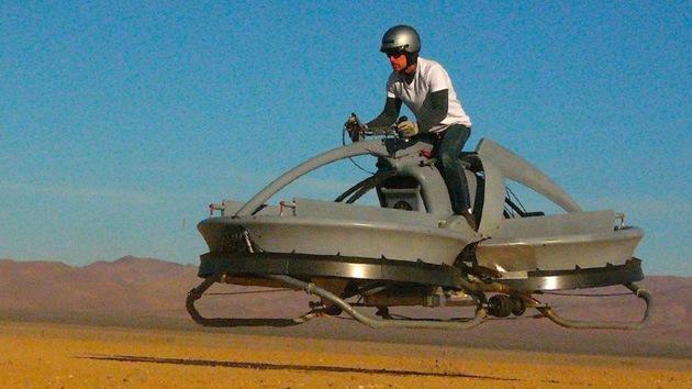 Video: Cada vez más cerca la moto voladora de 'El retorno del Jedi'