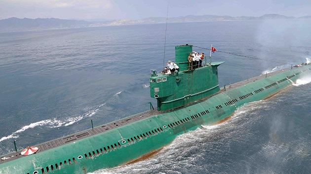 Corea del Norte podría tener un submarino equipado con misiles nucleares