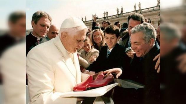 Calzado italiano para el Papa y el Patriarca ruso