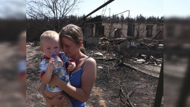 Varios países europeos ayudan a Rusia a apagar las llamas