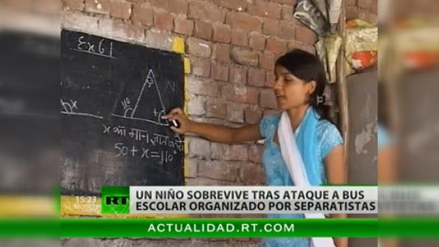 Cachemira: la violencia de los adultos deja sin escuela a los niños