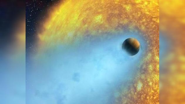 Detectan un planeta que se evapora