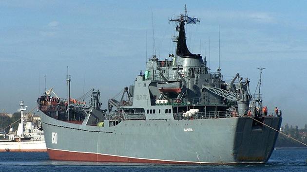 Otro buque de guerra ruso se dirige a aguas sirias