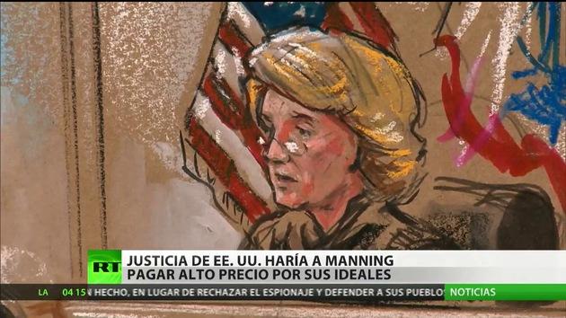 La justicia de EE.UU. puede hacer pagar a Manning un alto precio por defender sus ideales