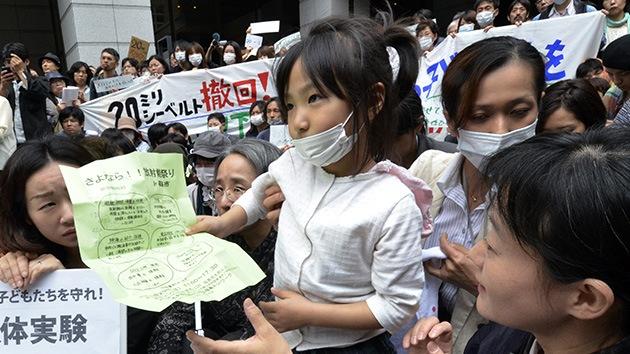 Un tercio de los niños de Fukushima, bajo la amenaza del cáncer de tiroides