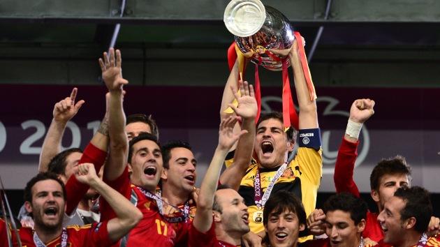 Nueve jugadores de España en la lista de 'leyendas' de la Eurocopa