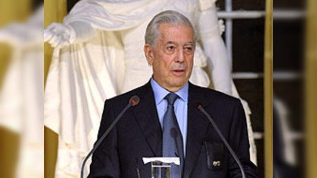 Mario Vargas Llosa opina sobre legalizar las drogas en México