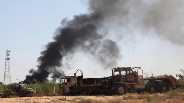 Misteriosos ataques aéreos apuntan contra las milicias islamistas en Libia