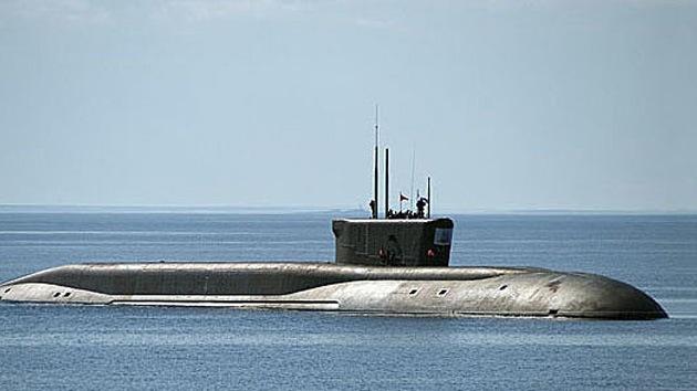 La Marina de Guerra rusa se frota las manos por el nuevo submarino portamisiles
