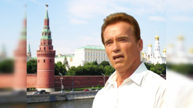 Schwarzenegger visitará Rusia