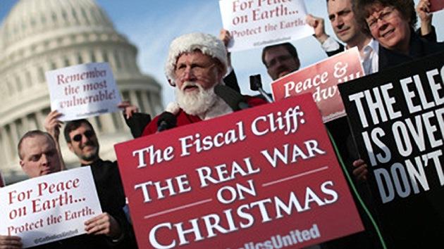 El abismo fiscal le costaría la calificación AAA a EE.UU., según la agencia Fitch