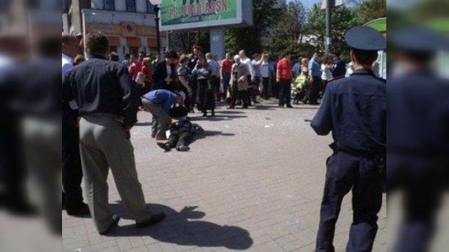 VIDEO: Se produce una serie de explosiones en una ciudad de Ucrania